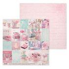 Бумага для скрапбукинга Happy moments, 30.5 × 30.5 см, 180 г/м