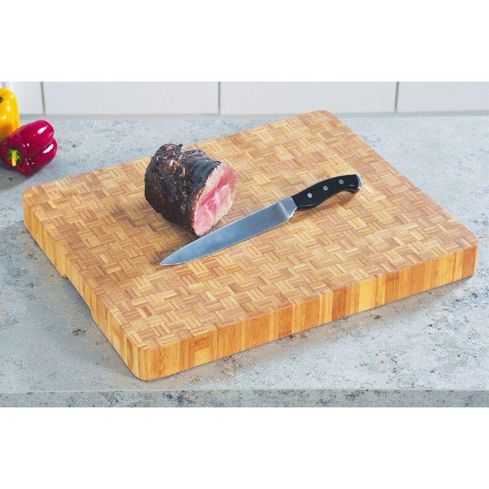 Доска разделочная Kesper, 50 х 40 х 6 см, бамбук