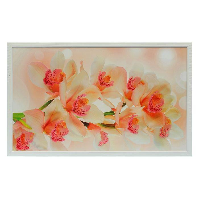 """Картина """"Бело-розовые цветы"""" 64х104 см"""