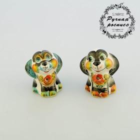 Сувенир Собака 'Пикси', гжель,цвет Ош