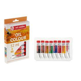 Краски масляные художественные набор в тубах 8 цветов*12 мл Royal Talens Art Creation 902010