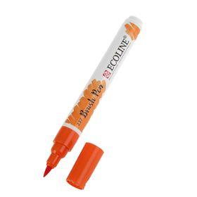 Маркер художественный акварельный Royal Talens Ecoline, кисть № 237, оранжевый, насыщенный