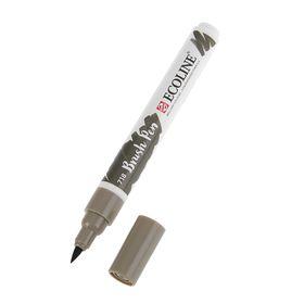 Маркер художественный акварельный Royal Talens Ecoline кисть №718 Серый тёплый 11507180