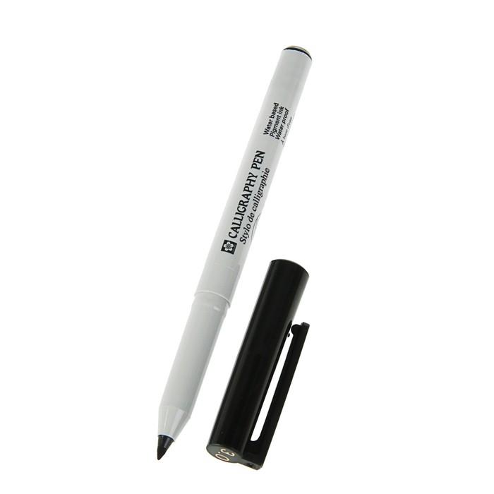 Ручка капиллярная для каллиграфии Sakura Calligraphy Pen Black 3.0 мм