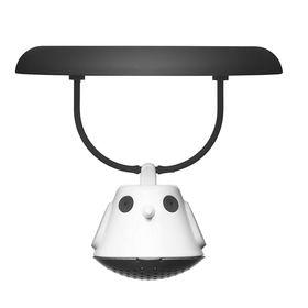 Емкость для заваривания чая с крышкой Birdie Swing, чёрная