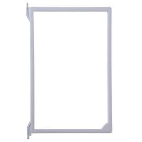Рамка пластиковая для перекидной системы A4, без протектора, цвет серый