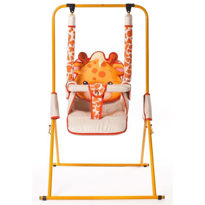 Качели детские напольные «Новинка. Жираф» - фото 1695478