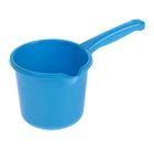 Ковш 1,5 л с носиком, цвет голубой