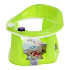 Детское сиденье для купания на присосках, цвет салатовый