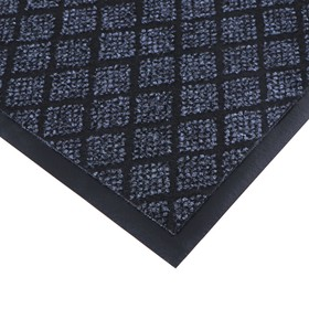 Коврик придверный влаговпитывающий «Галант», 50×80 см, цвет серый - фото 4657504