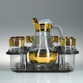 Мини-бар 7 предметов кувшин + стаканы Гармония 1100/200 мл