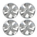 """Колпаки колесные R14 """"Брабус"""", серебро, набор 4 шт."""