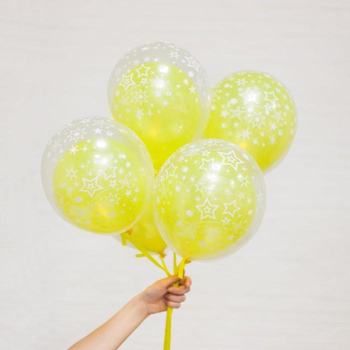 """Шар воздушный в прозрачном шаре """"Твой праздник"""", набор 10 шт. - фото 460763"""