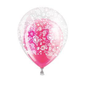 """Шар воздушный в прозрачном шаре """"Для тебя"""", набор 10 шт, 10"""", 12""""."""