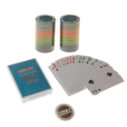 Poker game set (cards 54 pieces, chips 48 PCs)
