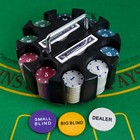 Poker, set to play in the carousel (cards 2 decks, chips 200 PCs)