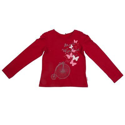 Джемпер для девочки, рост 128 см, цвет малиновый 24387021043.700