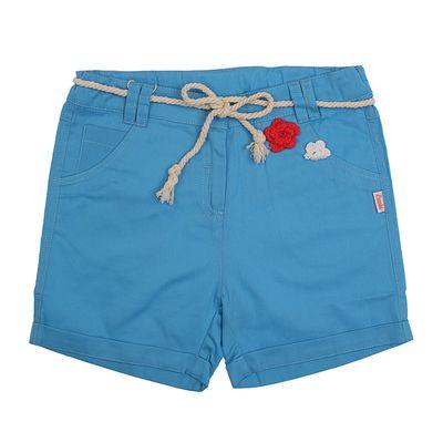 Шорты для девочки, рост 116 см, цвет голубой  26346020641.400
