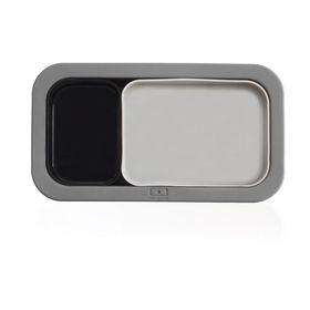 Форма для выпечки под ланч-бокс Original, серо-чёрная