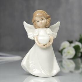 "Souvenir ""angel with a rose on your dress,"" 13х8х6 cm"