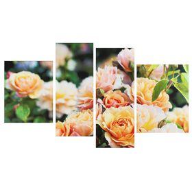 """Картина модульная на подрамнике """"Розы желтые"""" 40*50, 2-30*80, 42*55; 145х80"""