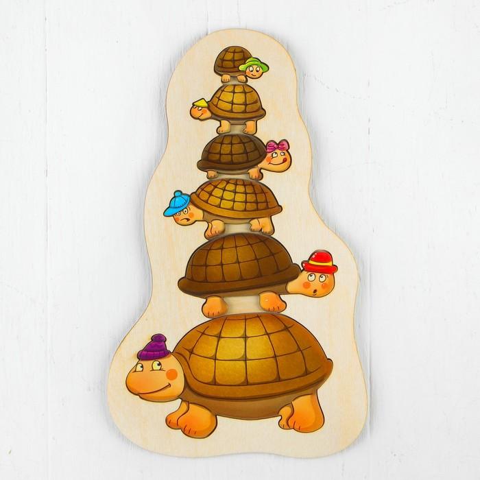 Рамка-вкладыш «Черепашки в шапочках» - фото 105593666