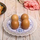 """Подставка пасхальная на 4 яйца """"Гжель"""""""