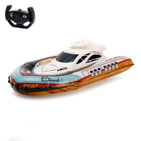 """The radio controlled boat """"Victory"""", battery powered, pneumatic Board, light effects"""