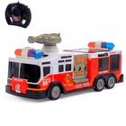 """Машина радиоуправляемая """"Пожарная охрана"""", работает от батареек (без света и звука)"""