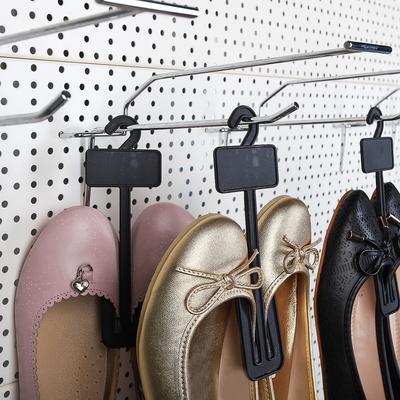 Вешалка для обуви, L=18.6, цвет чёрный