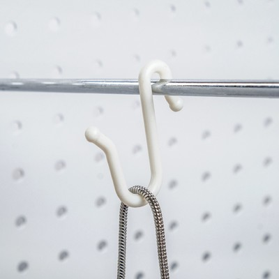 Hook plastic, L=5 cm, (packing 50 PCs), color white