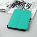 """Чехол-книжка """"Norton"""" для планшета, универсальный, 7"""", с клипсами, цвет мятный"""