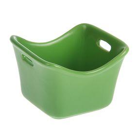 """Кокотница 300 мл """"Базилик"""", цвет зеленый"""