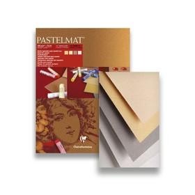 Альбом для пастели А3 300*400 мм Clairefontaine Pastelmat 12 листов склейка 360 г/м2, 4цв 96018С