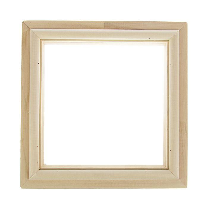 Окно глухое, 30х30 см, двойное стекло
