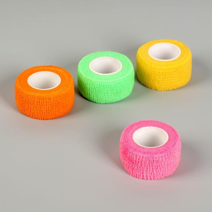 Защитная лента-бандаж для пальцев, цвет МИКС