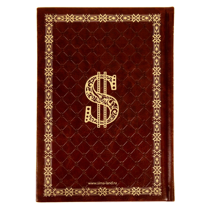 """Ежедневник в подарочной коробке """"Секреты привлечения денег"""", экокожа, А5, 96 листов"""