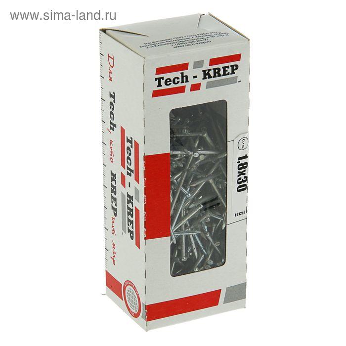 Гвоздь финишный, 1.8х30 мм, оцинкованный, в упаковке 300 г
