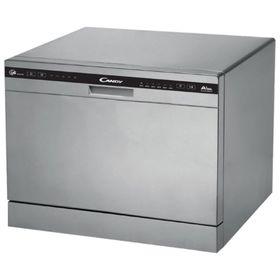 Посудомоечная машина Candy CDCP 6/ES-07, 6 комплектов, 6.5 л, Класс А, серебристая