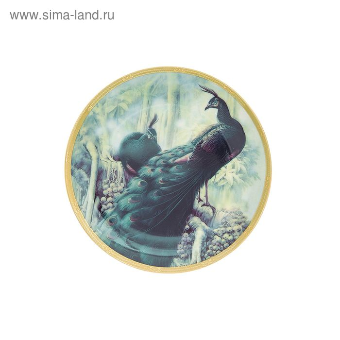 """Тарелка декоративная """"Жар-птица"""", 18х18х2 см"""