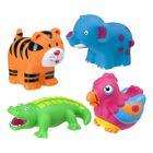 """Игрушки для ванны """"Джунгли"""", 4 предмета блистер, от 6 меc."""