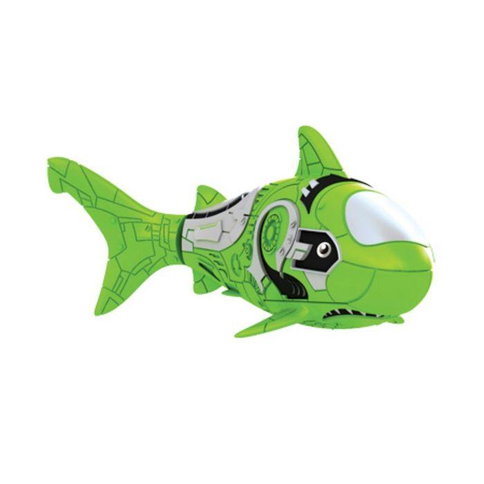 РобоРыбка Акула (зеленая)