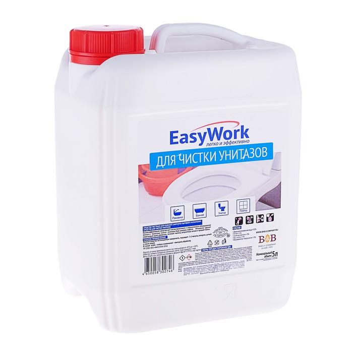 Средство для туалетов EasyWork, 5л