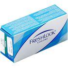 Цветные контактные линзы FreshLook Colors Blue, диопт. -8, в наборе 2шт