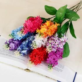 Цветок искусственный 'Гортензия' микс Ош