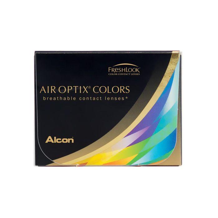 Цветные контактные линзы Air Optix Aqua Colors Gemstone green,  -2,25/8,6 в наборе 2шт
