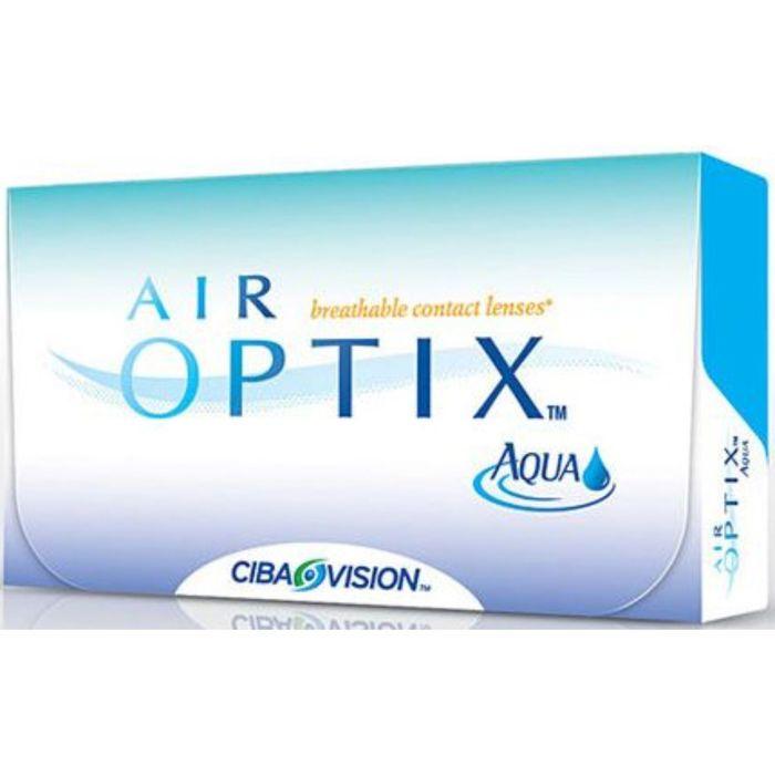 Контактные линзы Air Optix Aqua 3pk, диопт. -2, рад. 8,6, в наборе 3 шт