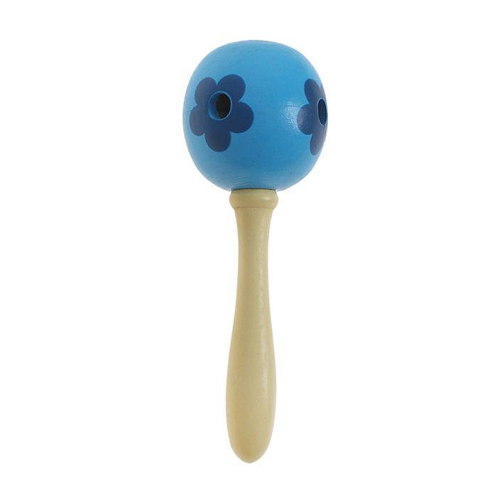 Игрушка музыкальная маракасы с отверстиями, цвета МИКС