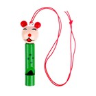"The musical toy Whistle ""Animal"" on a string, MIX"