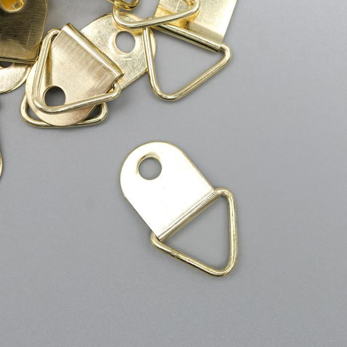 Подвес металл для фоторамки/картины золото 2х1,3 см